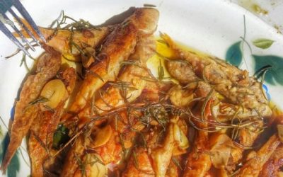 Fish Savoro or Marinato
