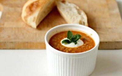 Frumenty and tomato soup (Trahanas)