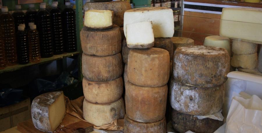 Arseniko cheese of Naxos