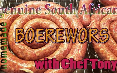 South African Boerewors