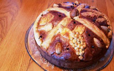 Christopsomo – Christmas Bread (Χριστοψωμο)