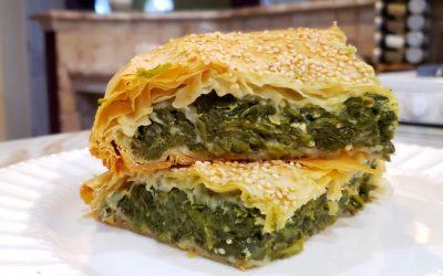 Spanakopita, Spinach Pie