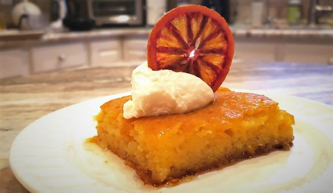 Portokalopita, Orange pie,