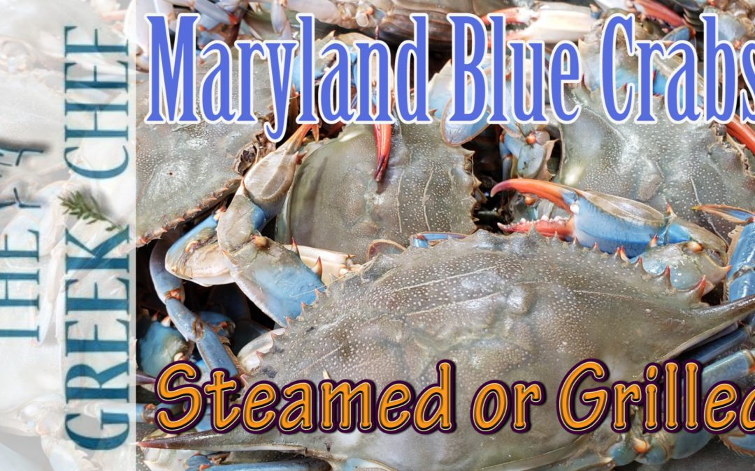 Maryland's Blue Crabs, steamed and grill