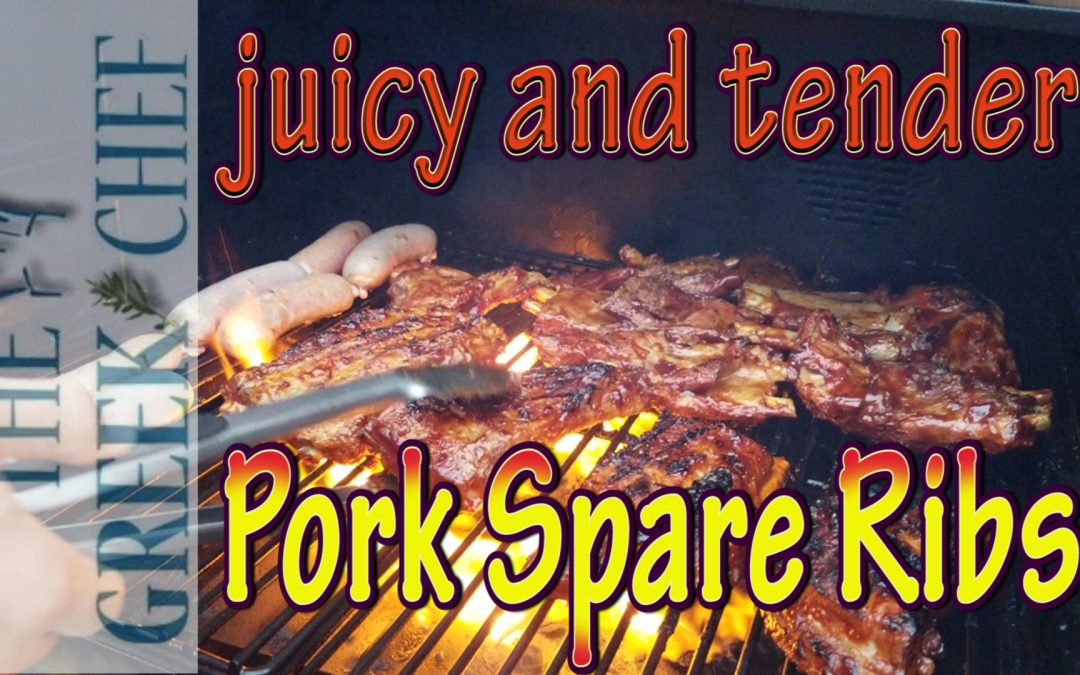 Pork Spare Ribs, tender and juicy